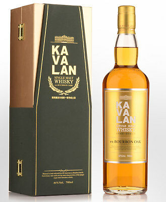 Kavalan Bourbon Cask Single Malt Taiwanese Whisky (700ml)