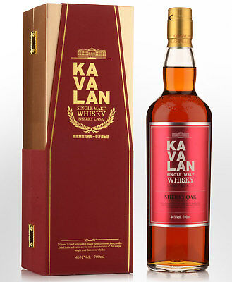 Kavalan Sherry Cask Single Malt Taiwanese Whisky (700ml)