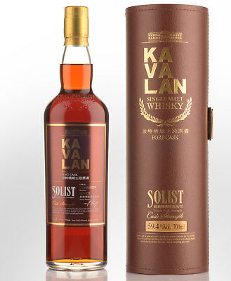 Kavalan Solist Port Cask Cask Strength Single Malt Taiwanese Whisky (700ml)