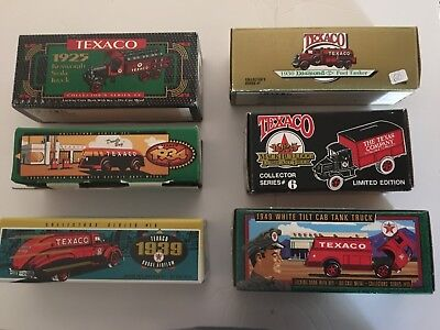 TEXACO 6 Trucks Grouped Together as one sale! ALL NIB