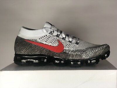 fc010bc8fae Nike Air Vapormax Flyknit OG Pure Platinum University Red Size 13.  (849558-020
