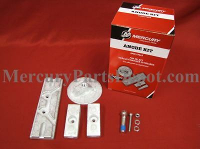Mercury Marine 75-115hp & 150hp 4-Stroke Outboards Anode Kit - Part # 8M0107549