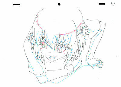 SALE! Anime Douga Not Cel: ToraDora! #353 (Set of 1 Production Sketch)