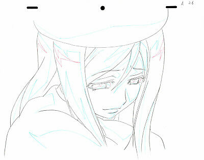 SALE! Anime Douga Not Cel: Higurashi no Naku Koro ni Rei #158 (1 Sketch)