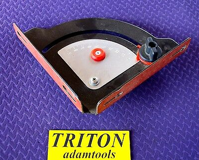 Triton router table protractor for RTA300 - used