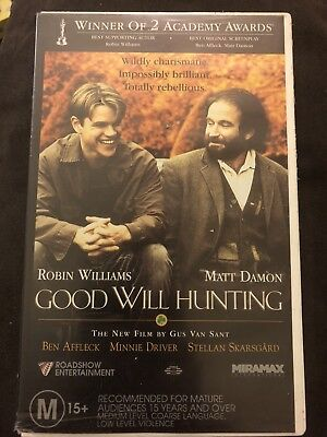 Good Will Hunting Vhs Movie 5 13 Picclick