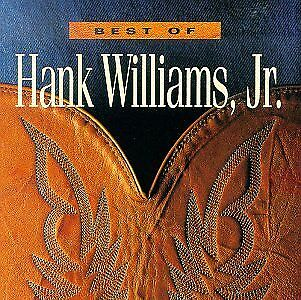 HANK WILLIAMS JR - Best Of - CD - **BRAND NEW/STILL SEALED** - RARE