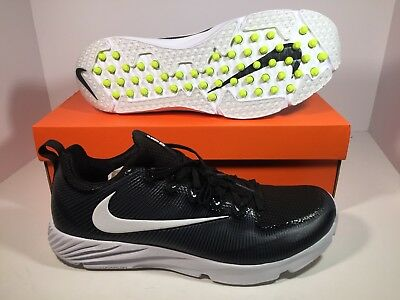 promo code 8c964 2e11e Nike Vapor Speed Turf Football Training Shoes Black   White (833408-017)  Size