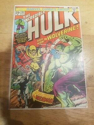 Incredible Hulk #181 First Appearance of Wolverine! RED HOT MEGA KEY !!!