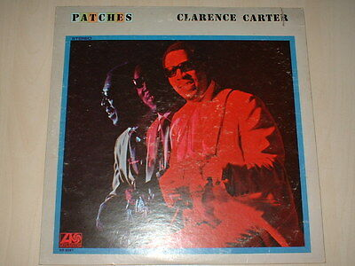 Clarence Carter ‎– Patches   Atlantic ‎– SD 8267  Vinyl, LP,  1970