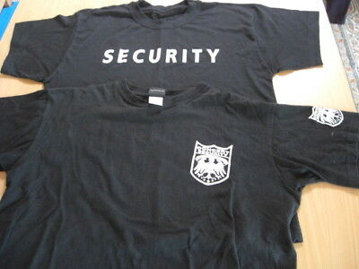 2x Security Shirts , Gr. L / XL !!!!!!!!!!