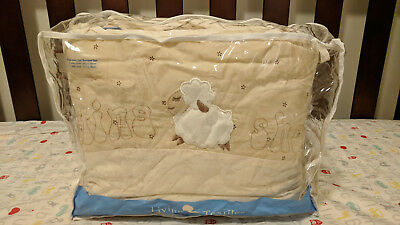 Living Textile Counting Sheep Cot Bumper Set - Used - Carlingford Pickup Only