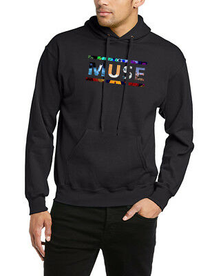 Muse Hoodie Music Rock Drones Graphic Cover Band Logo Gift Unisex Hoody Top