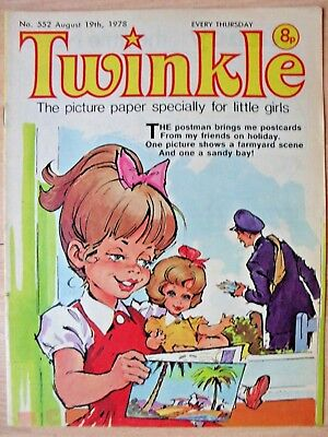 TWINKLE COMIC - 19th AUGUST 1978 - NOVEL 40th BIRTHDAY GIFT!!