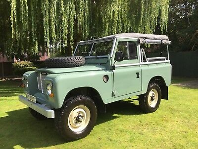 Land Rover Series 3 - Pastel Green - Fully Restored - A very rare opportunity