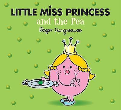 Little Miss Princess And The Pea | Roger Hargreaves | Sparkly Book | New | Cheap