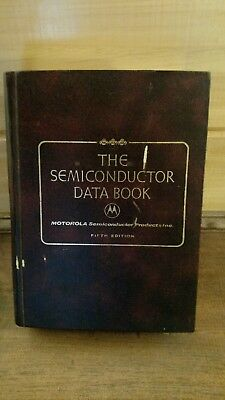 Vintage Motorola The Semiconductor Data Book Fifth Edition