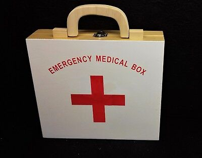 """Emergency Medical Box - toy play for """"Doctors & Nurses"""""""
