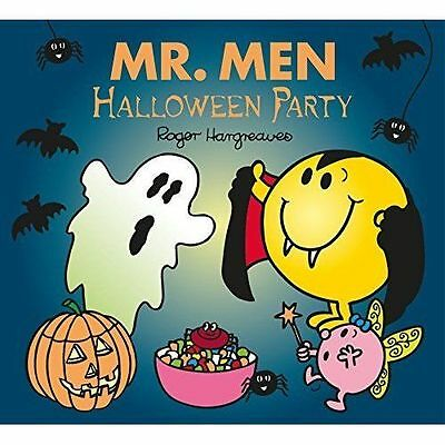 mr men halloween party roger hargreaves kids story book new