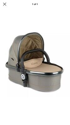 iCandy Peach Blossom Twin Carrycot in Olive - NEW Boxed Double