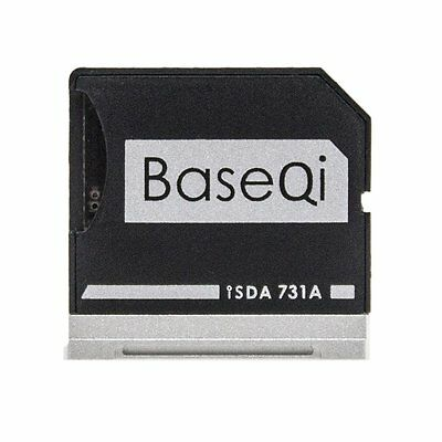 731A BASEQI Aluminum MiniDrive MicroSD Card Adapter/Card Reader For Dell XPS13''