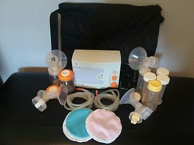 HYGEIA Q Electric Breast Pump w/ Accessories Pumping Kit and MORE!