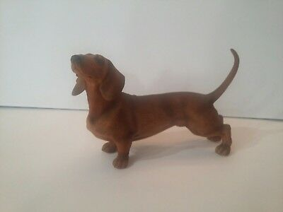 ANDREA BY SADEK Porcelain DACHSHUND DOG #7733 Japan