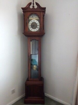 Grandfather clock with Westminster chimes **PRICE REDUCTION**