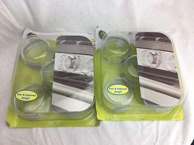 Safety 1st Clear View Stove Knob Covers - 10 Count - New (damaged box)
