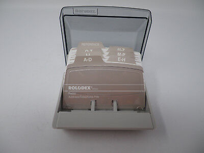 Rolodex S300C Covered Card File Petite Small Desktop, Madison WI Made in the USA