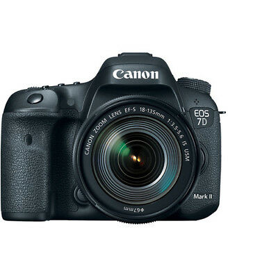 Canon EOS 7D Mark II DSLR Camera with 18-135mm f/3.5-5.6 IS USM Lens - USA Model