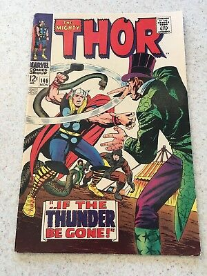 The Mighty Thor 146  F/VF  7.0  High Grade   Circus Of Crime   Infinity War