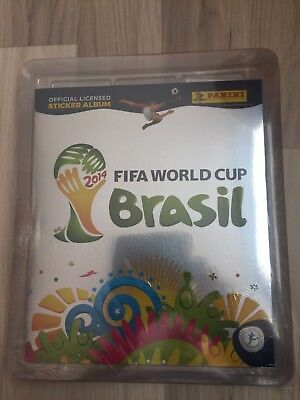 Panini FIFA World Cup WM 2014 Brasil - Swiss Platinum Factory Sealed Set Update