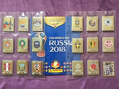 Panini FIFA World Cup WM 2018 Russia - Komplett Set mit 682 Sticker + Album