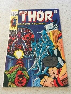 The Mighty Thor 162  VF-  7.5  High Grade    Galactus  Ego The Living Planet