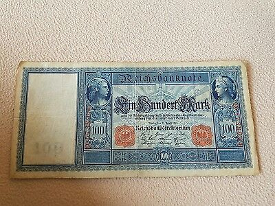 Reichsbanknote 100 Mark 1910