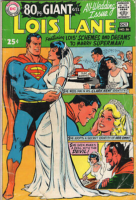 Lois Lane #86 80 Page Giant October 1968 (4.5)