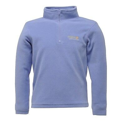 (32, Soft Purple) - Regatta Girl's Hotshot Fleece. Delivery is Free