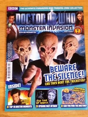 Doctor Who Monster Invasion Magazine - Part 2 - Includes Double sided Poster