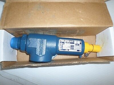 "*new In Box* Wellmark W2601-Dv-311-800 Pressure Relief Valve 1"" X 1"""