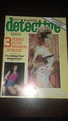 master detective magazine december 1983 good condition for age