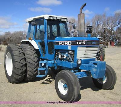 Ford TW5 TW15 TW25 & TW35 Tractors Workshop Manual