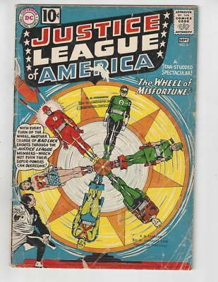 Justice League of America #6/Silver Age DC Comic Book/1st Amos Fortune/Fair
