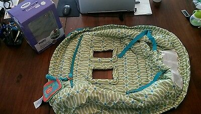 The Original Boppy Shopping Cart Cover Full Cart Coverage Sideline Toy Loop