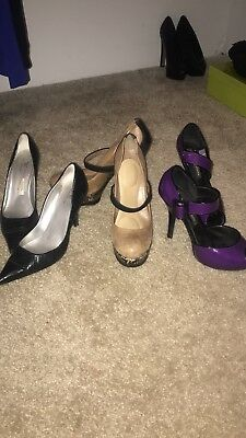 8f393792b0236 3 Pairs Of Womens Heels Size 9 Lot Sale Jessica Simpson Chinese Laundry Jcp