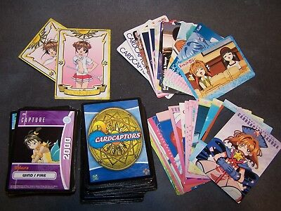 Cardcaptor Sakura Collectable and Gaming cards lot