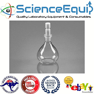 Pycnometer Density Gravity Bottle Specific, Borosilicate Glass, Chem Lab 50ML