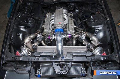 CX FRONT MOUNT Twin Turbo Intercooler Piping Kit For G-Body