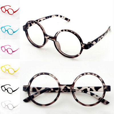 Girls Round Glasses Kids New Boys Plastic Children Fashion Pop Eyeglasses Frame