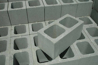 Concrete Besser Grey Blocks Block Brand New